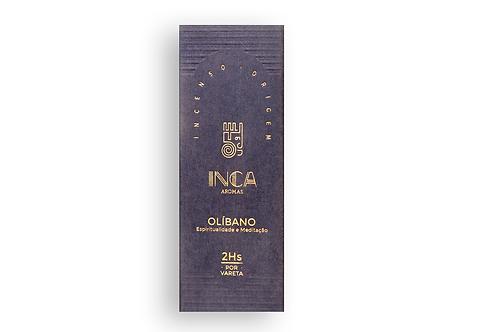Incenso olíbano especial 9 varetas - Inca Aromas