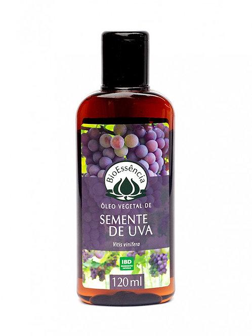 Óleo vegetal semente de uva - Bio Essência 120ml