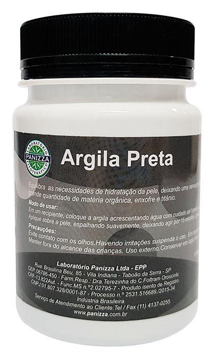 Argila pote preta - Panizza 200g