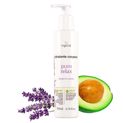 Hidratante corporal puro relax - Vegana 200ml