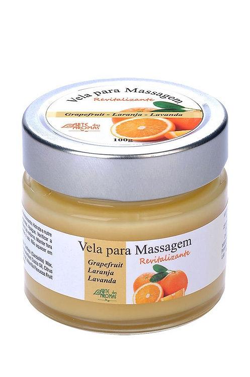 Vela para massagem revitalizante - 100g