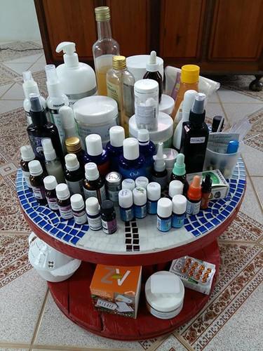 Curso de aromaterapia Novos Aromas