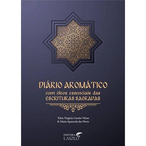Livro Diário aromático com óleos das escrituras sagradas