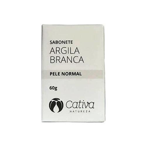 Sabonete argila branca - Cativa 60g
