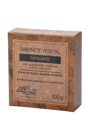 Sabonete Barra Esfoliante Cristais