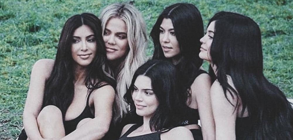 The Kardashian sisters = Kim, Khloe, Kendall, Kylie and Kourtney