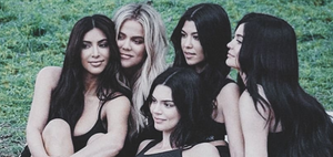 The Kardashian sisters = Kim, Khloe, Kendall, Kylie and Kourtney
