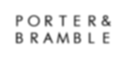 Porter & Bramble - hand lettering and design