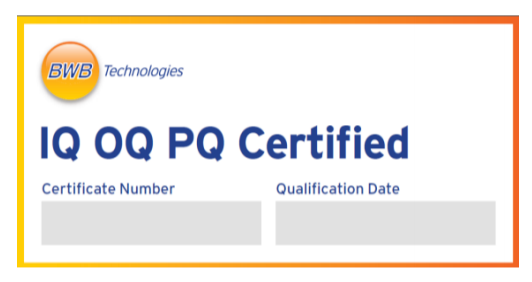 IQ OQ PQ Certification