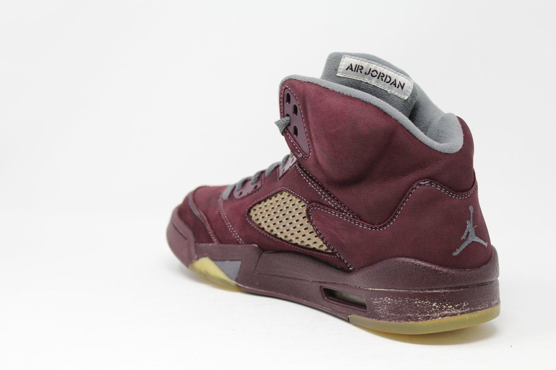 premium selection cdafa 5c0aa Air Jordan 5 Retro LS Burgundy