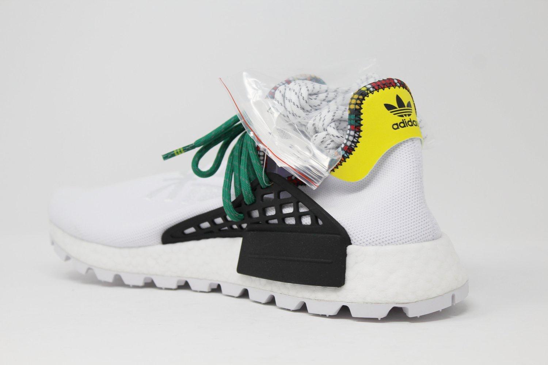 hot sale online bdb68 0fff1 Adidas NMD Hu Pharrell Inspiration Pack White