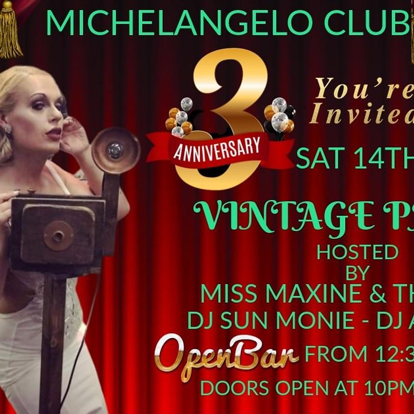 Michelangelo 3rd anniversary