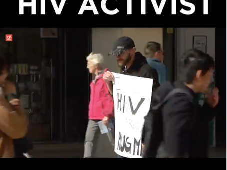 HIV Activist asks for Hugs in Valletta and the outcome had us in tears. This is why we did it.
