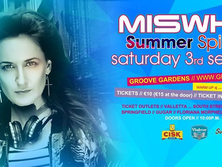 Miswhite - The London Based International Dj Playing in Malta!
