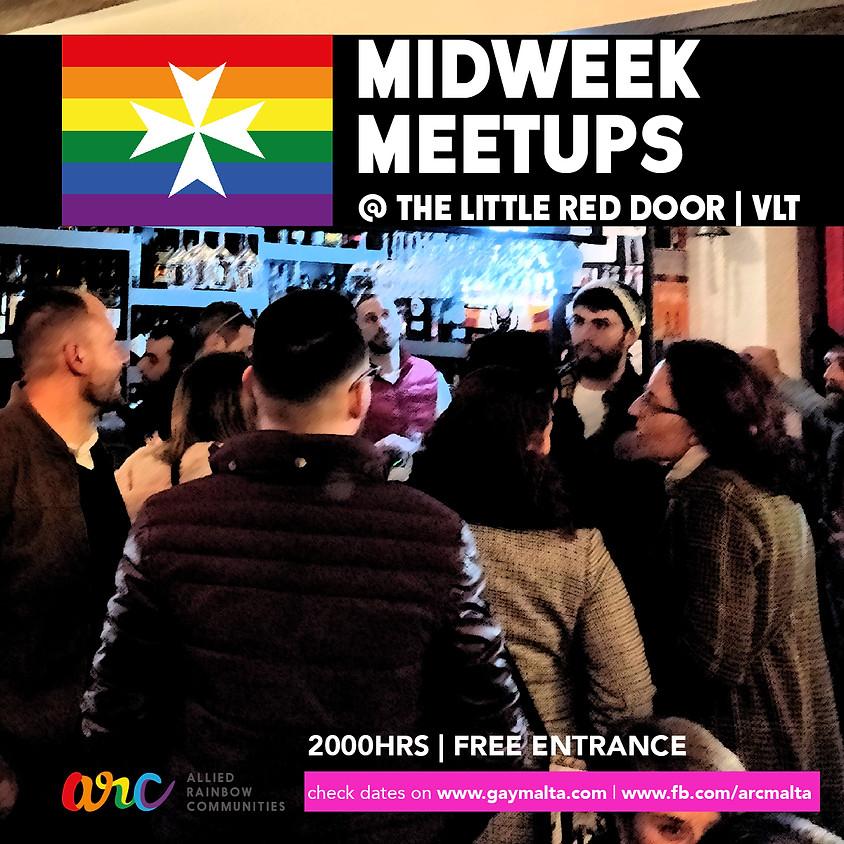 Midweek Meetups at the Little Red Door