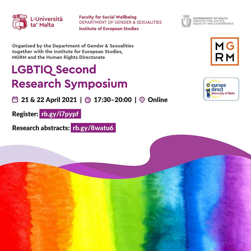 Second LGBTIQ Research Symposium