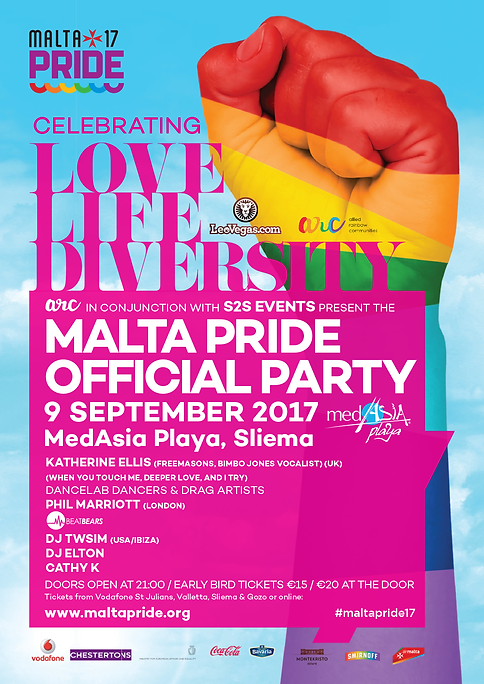 Image result for malta pride 2017
