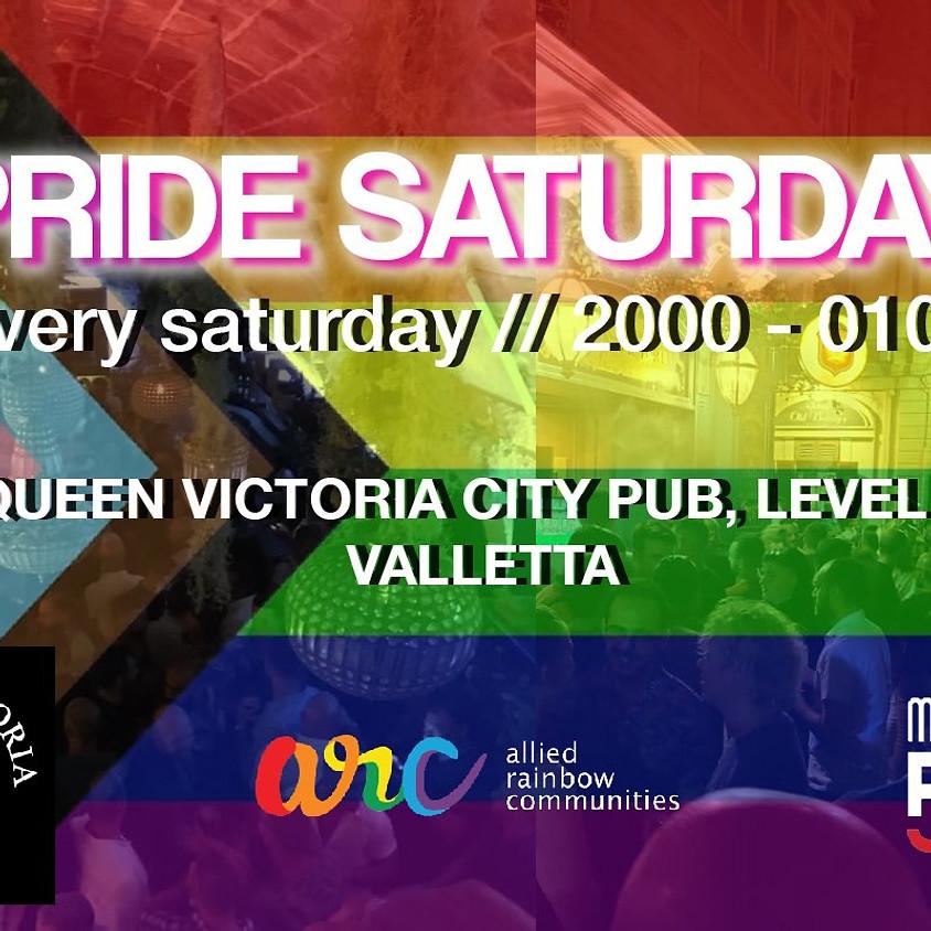 Pride Saturdays