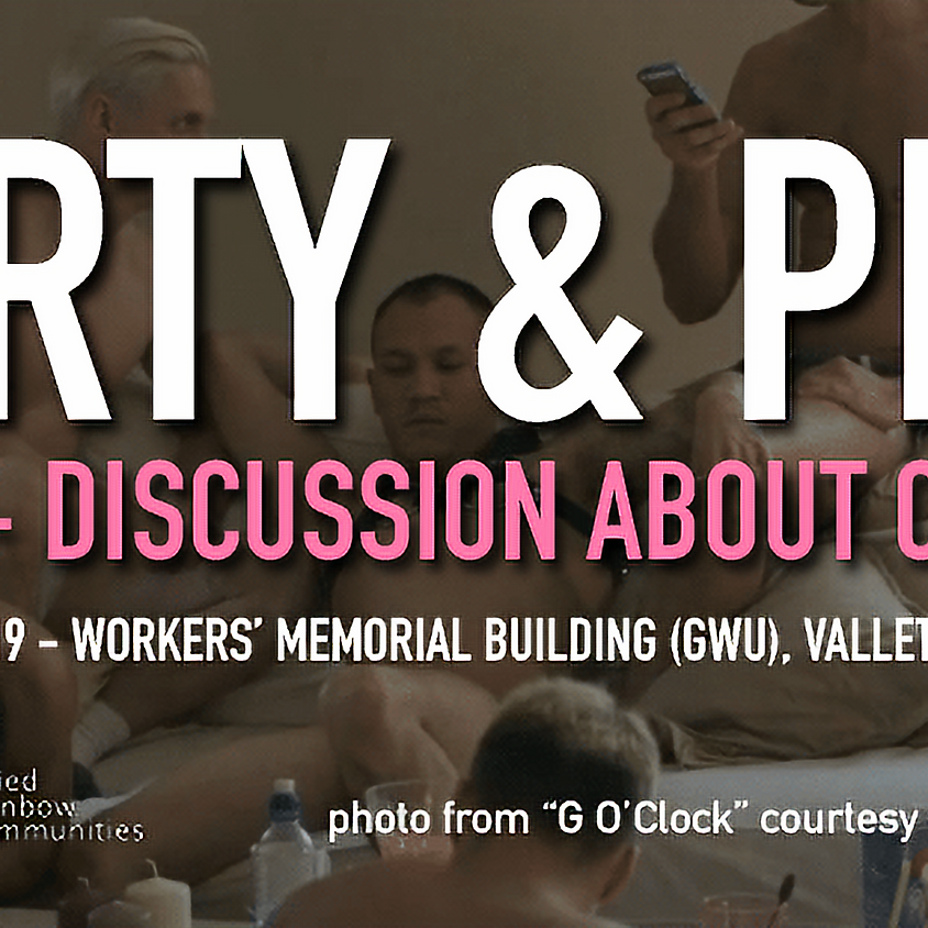 Party n' Play - Discussing Chemsex in the Queer Community