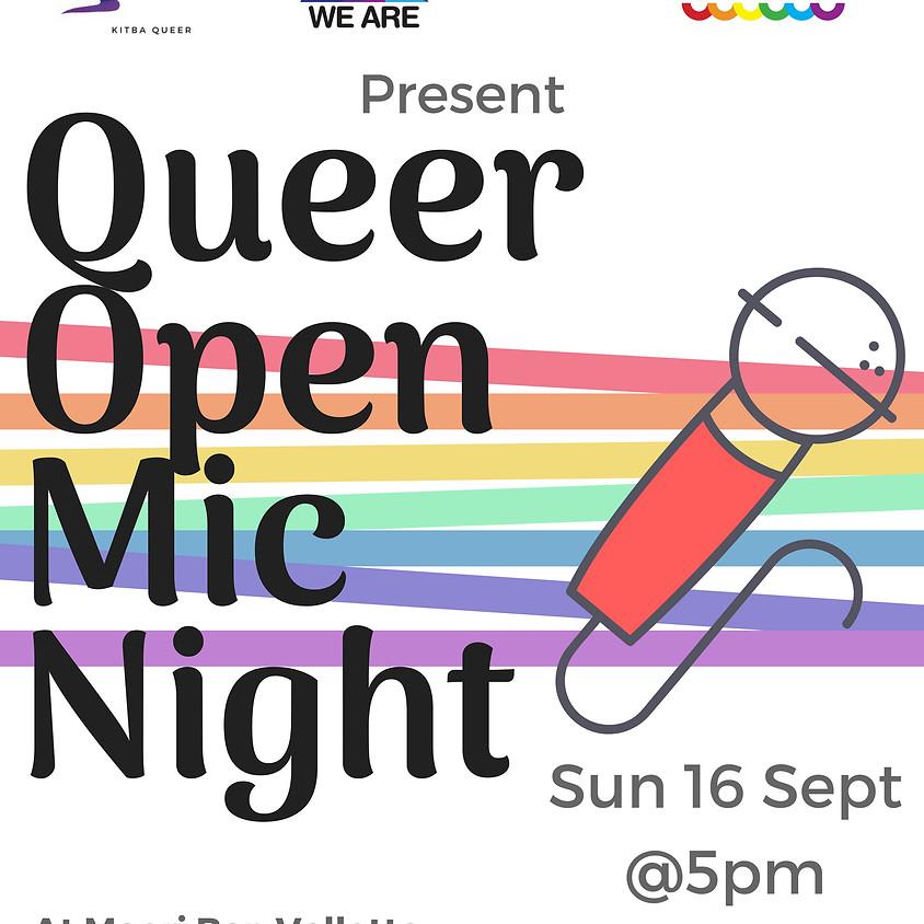 Queer Open Mic Night