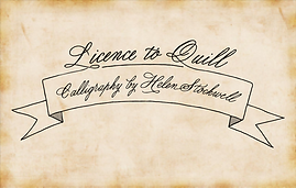 Licence To Quill