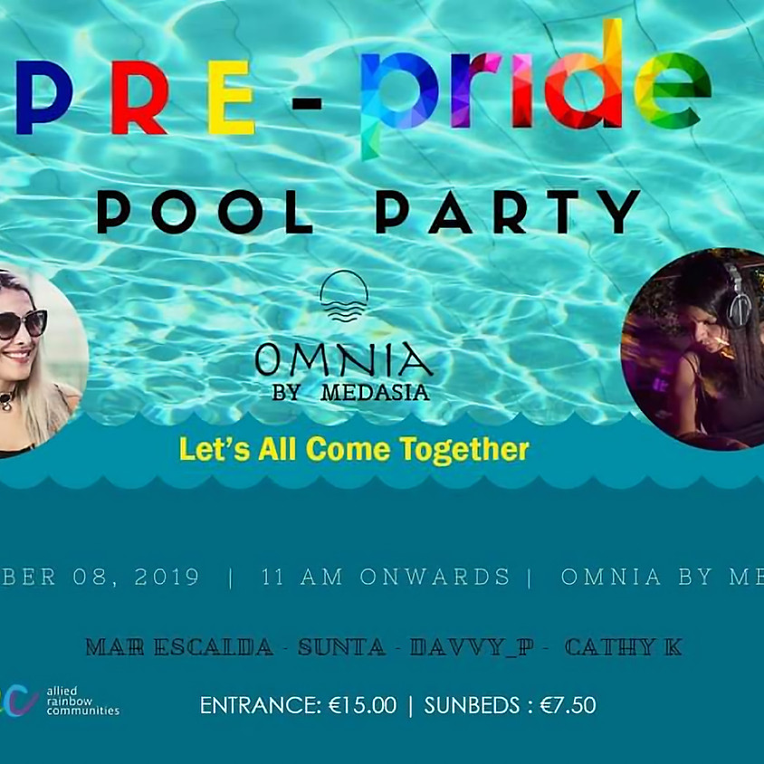 Pre-Pride Pool Party