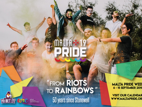 Malta Pride 2019 - It's going to be EPIC!