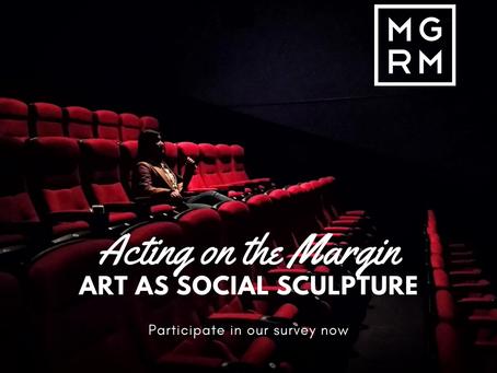 Acting on the Margin - Art as Social Sculpture