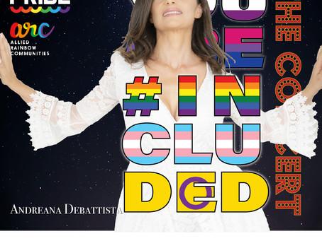 Andreana Debattista at the Malta Pride Concert