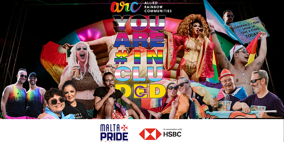 #YouAreIncluded - Malta Pride Concert