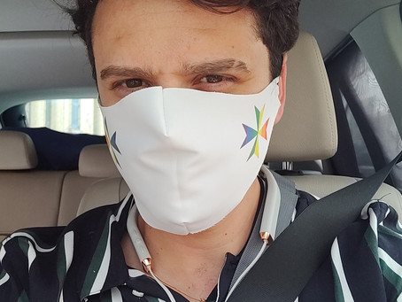 Fabric Face masks now available in support of Allied Rainbow Communities