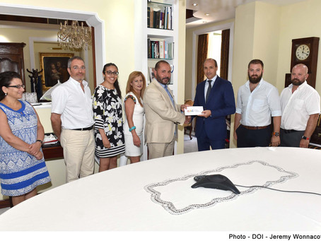 ARC makes a donation to introduce new services at GU clinic.