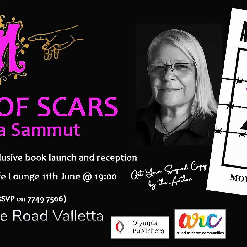 A Map Of Scars - The Book Launch