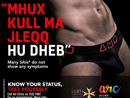 "PREVIEW: ""Qwiel u Idjomi"" the arc Sexual Health campaign"