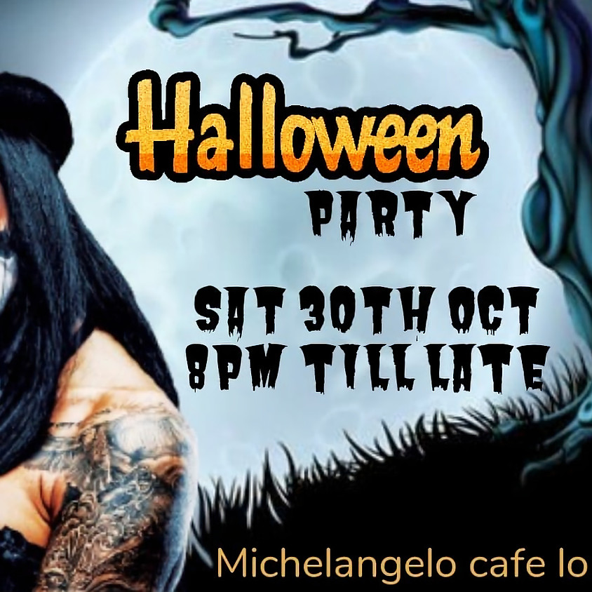 Halloween party by Michelangelo Cafe Lounge