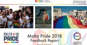 Check out the results of the Malta Pride 2018 Feedback Survey