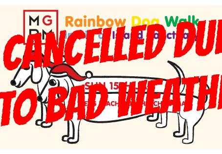 Rainbow Dog Walk - Cancelled