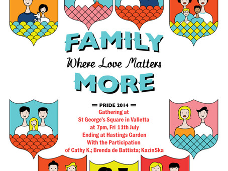 Pride Week 2014: Family: Where Love Matters More