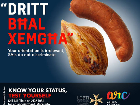 """Dritt bhal xemgha"" - SAIs do not Discriminate! arc Sexual Health Campaign Part #3"