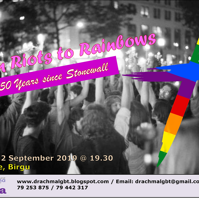 Faith-Based Talk: From Riots to Rainbows - 50 Years since Stonewall