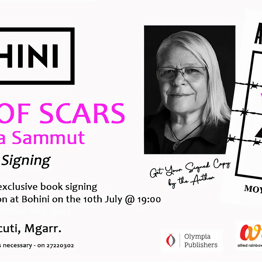 A Map Of Scars - Book Signing