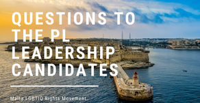 MGRM presents questions to the PL Leadership Candidates