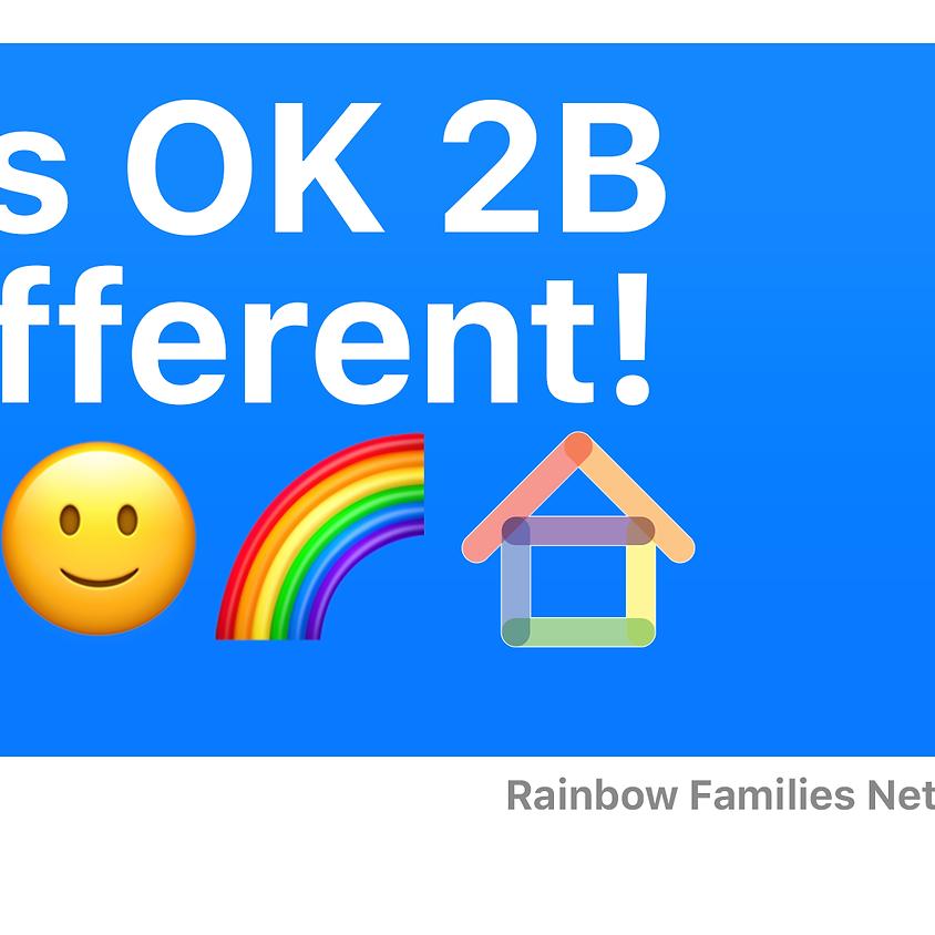 """It's Ok 2b different!"""