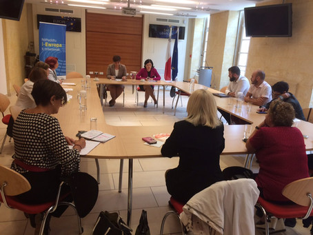 LGBTI Consultative Council meets Věra Jourová