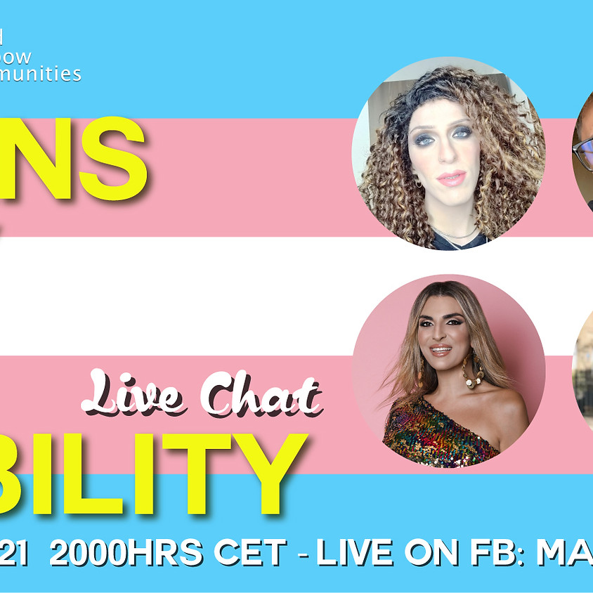 Live Chat - Trans Day of Visibility