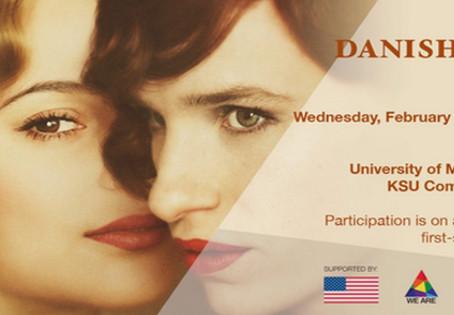 Danish Girl Screening - University of Malta