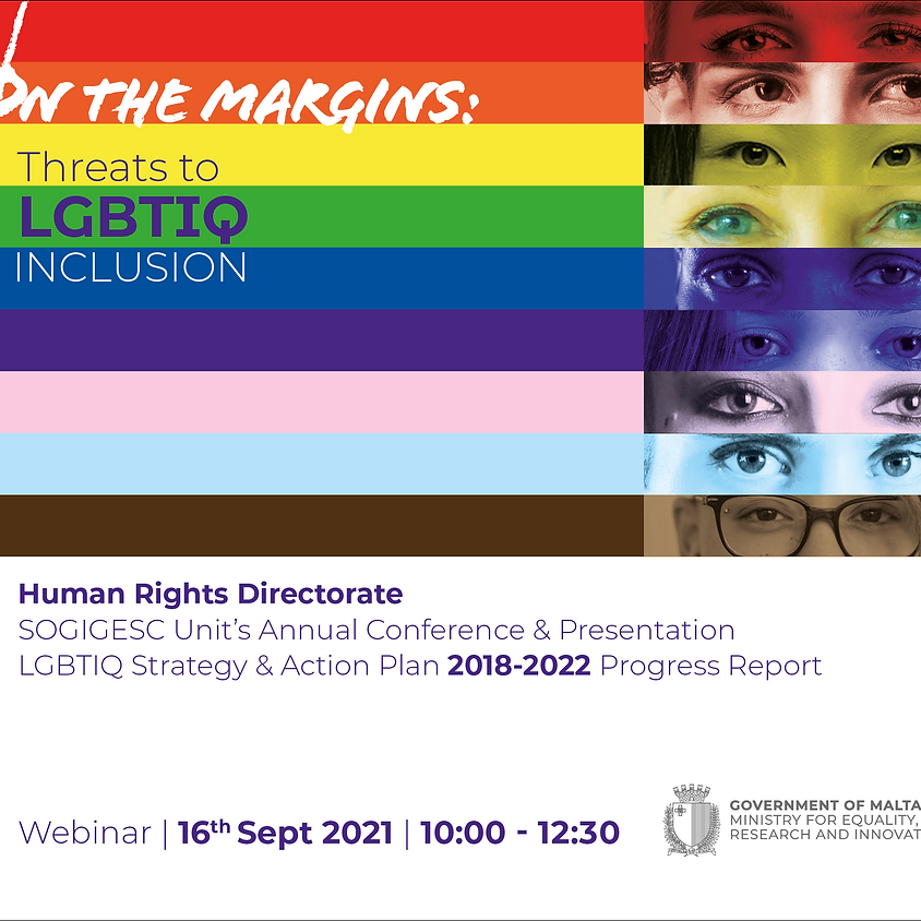 On the Margins: Threats to LGBTIQ Inclusion - Human Rights Conference