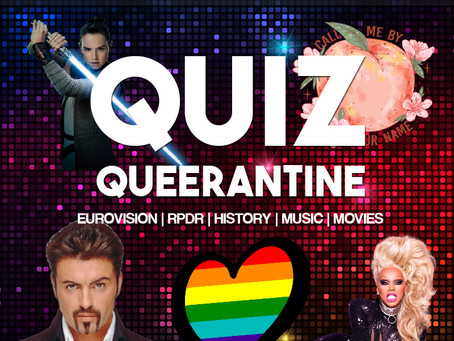 Join the Fun in our interactive Quiz Queerantine