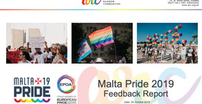 Malta Pride 2019 Feedback Report