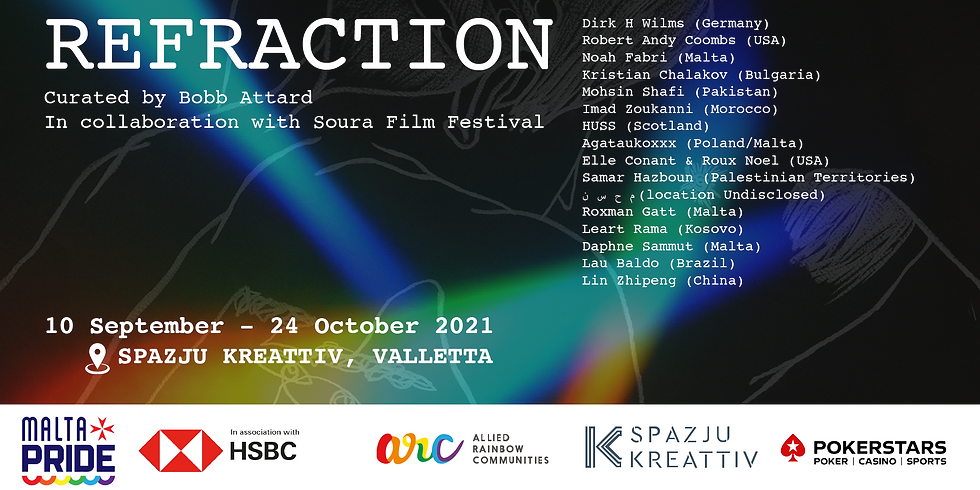 REFRACTION - A Collective Queer Visual Arts Exhibition